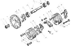ЯМЗ 238 Д Привод топливного насоса