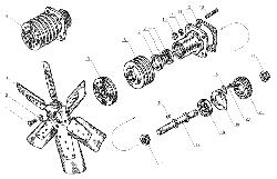 ЯМЗ 238 Д Вентилятор