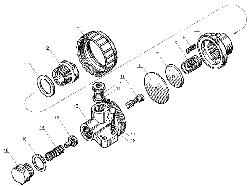 ЯМЗ 238 Д Редукционный клапан коробки передач
