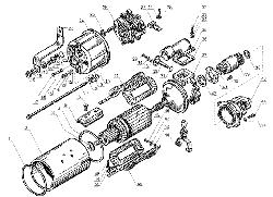 ЯМЗ 238 Д Стартер СТ-25