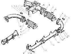 ЯМЗ 238 Д Газопровод