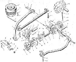 ЯMЗ 240 M2 : Маслянный насос