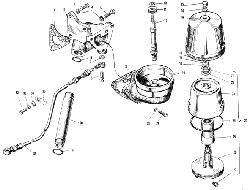 ЯMЗ 240 M2 : Фильтр центробежной очистки масла