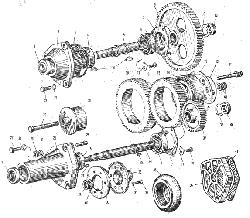 ЯMЗ 240 M2 : Приводагрегатов