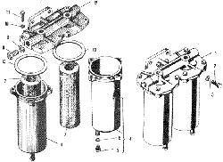 ЯMЗ 240 M2 : Фильтр грубой очистки топлива