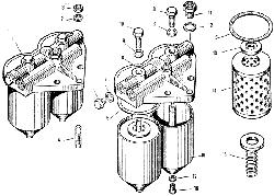 ЯMЗ 240 M2 : Фильтр тонкой очистки топлива