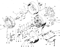 ЯMЗ 240 M2 : Генератор 63.3701