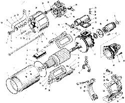 ЯMЗ 240 M2 : Стартер