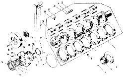 ЯMЗ 240 M2 : Коленчатый вал